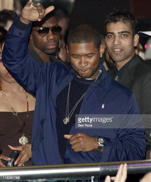 Usher during Belated Birthday Party for Kevin Federline with Britney Spears Hosted by Scooter Braun Inside at Vision Nightclub Lounge in Atlanta...