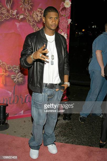 Usher during Mariah Carey Charm Bracelet After Party at Canal Room in New York City New York United States