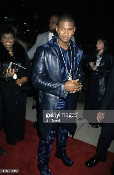 Usher during Premiere of 'Light It Up' at Cinerama Dome Theatre in Hollywood California United States