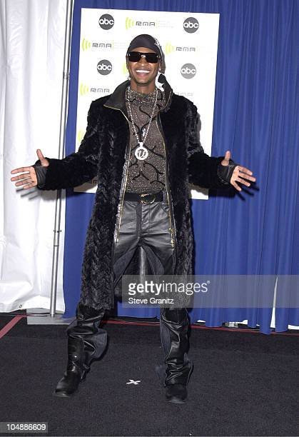 Usher during The 2000 Radio Music Awards at The Aladdin Hotel in Las Vegas Nevada United States