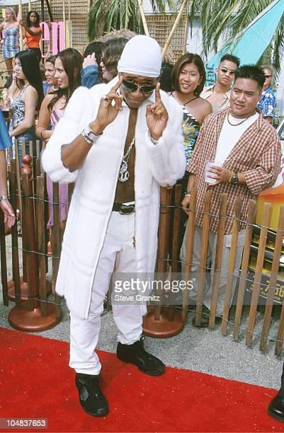 Usher during The 2000 Teen Choice Awards at Barker Hanger in Santa Monica California United States