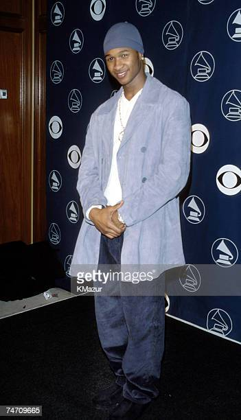Usher during The 40th Annual GRAMMY Awards at the Radio City Music Hall in New York City New York
