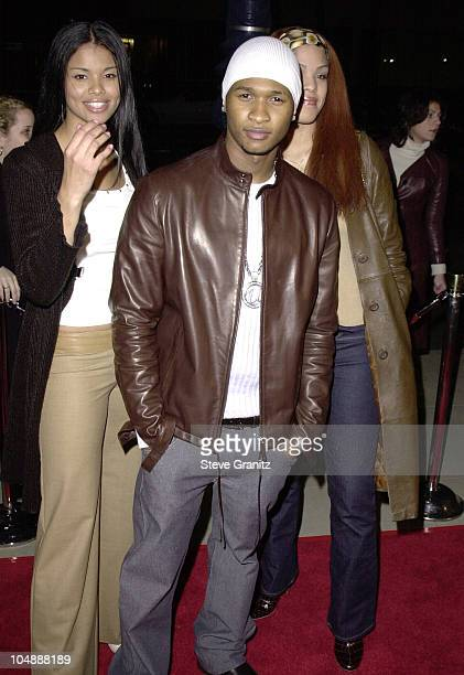 Usher during 'Traffic' Los Angeles Premiere at The Academy in Beverly Hills California United States