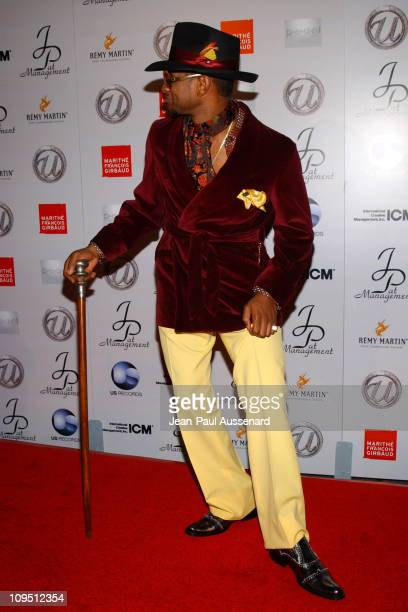 Usher during Usher's 25th Birthday Bash 'Flashback 1978' Arrivals at Pearl in West Hollywood California United States