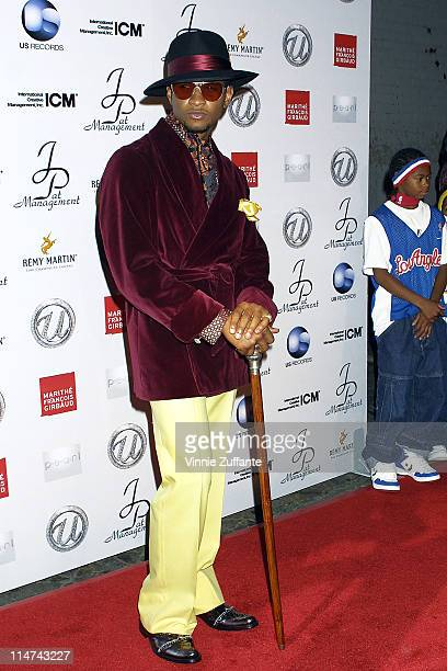 Usher from TLC attending Usher's 25th Birthday Bash 'Flashback 1978' at Pearl in West Hollywood CA 10/19/03