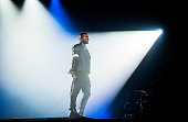 Usher performs at Le Zenith on March 11 2015 in Paris France