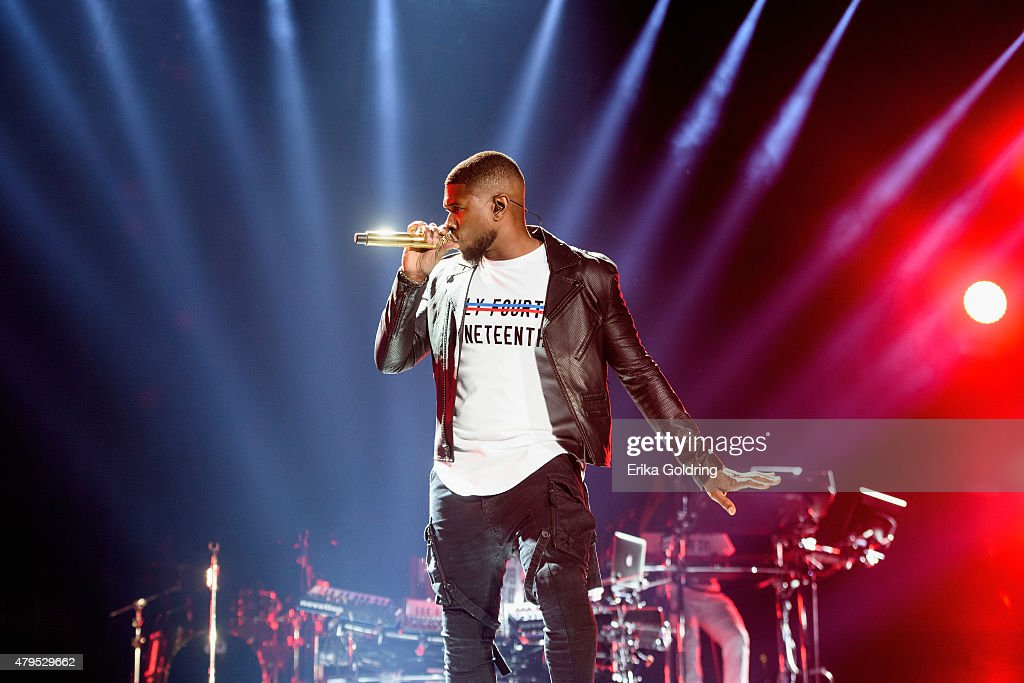 Usher performs at the 2015 Essence Music Festival on July 4 2015 in New Orleans Louisiana