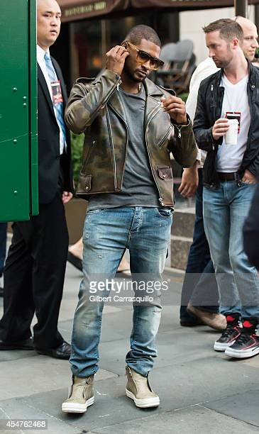 Usher performs on NBC's 'Today' at the NBC's TODAY Show on September 5 2014 in New York New York