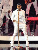 Usher performs onstage at the 2014 MTV Video Music Awards at The Forum on August 24 2014 in Inglewood California