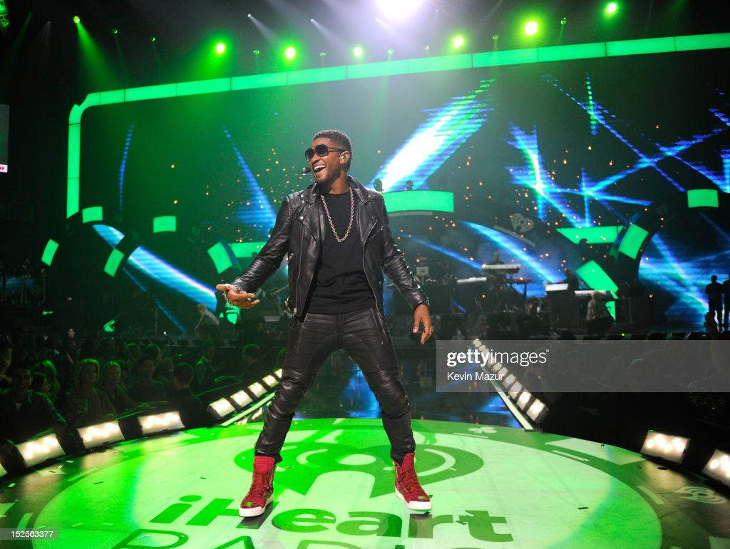 Usher performs onstage during the 2012 iHeartRadio Music Festival at MGM Grand Garden Arena on September 21, 2012 in Las Vegas, Nevada.