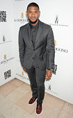 Usher Raymond attends The Weinstein Company's HANDS OF STONE Cocktail Party presented by de Grisogono at Terrasse by Albane in Cannes on May 16 2016...