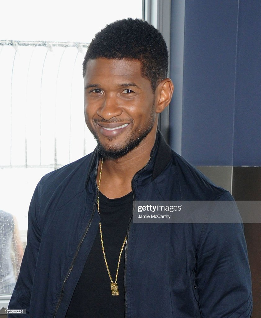 Usher Raymond lights The Empire State Building in celebration of Independence Day on July 3 2013 in New York City