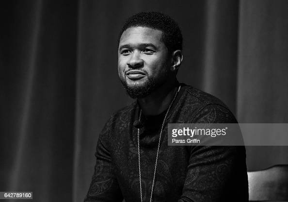 Usher Raymond onstage at Morehouse College 150th Anniversary 'Reflections of Excellence' at Ray Charles Performing Arts Center at Morehouse College...