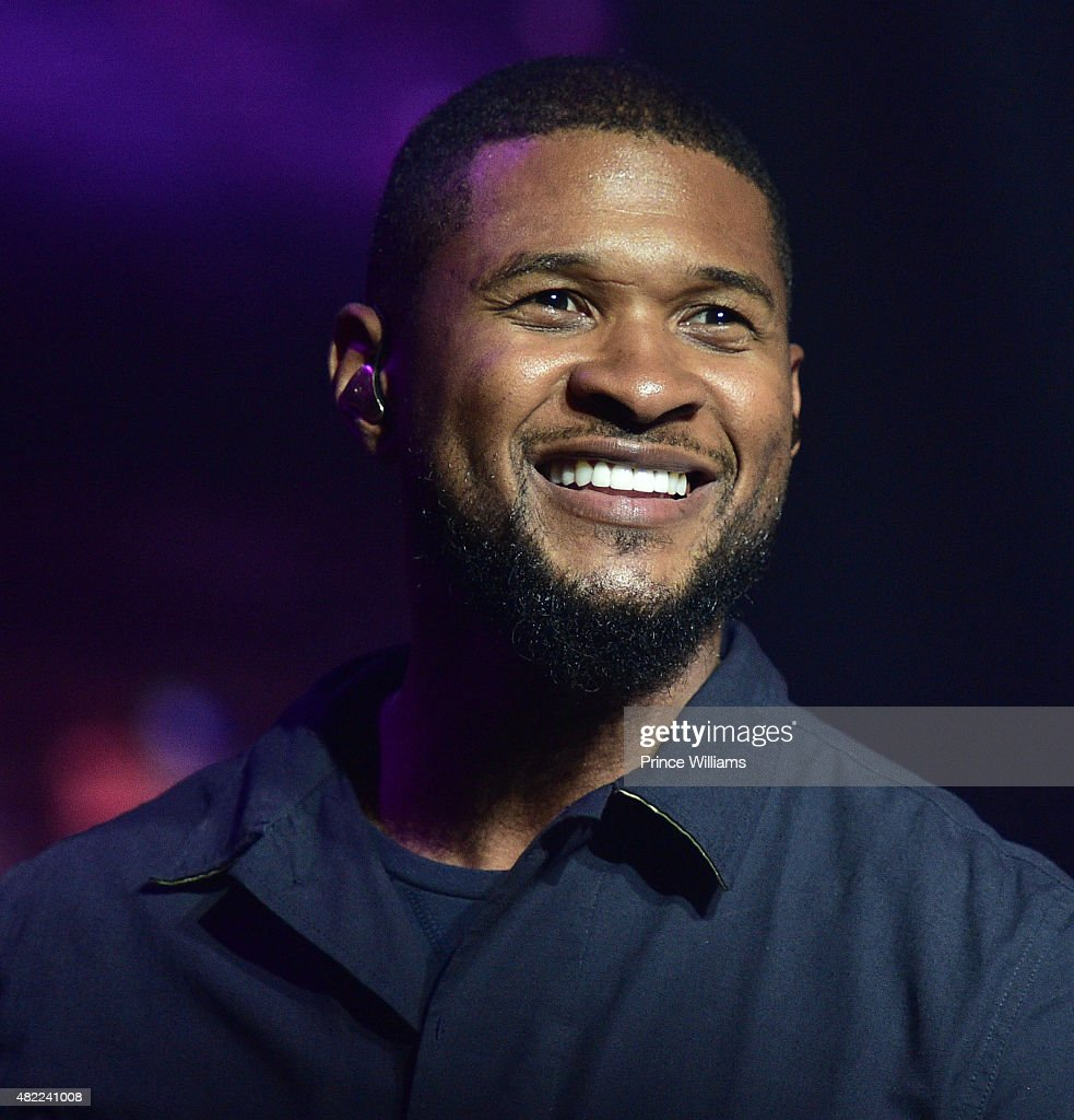Usher Raymond performs at Jeezy Presents TM101 10 Year Anniversary at The Fox Theatre on July 25 2015 in Atlanta Georgia