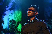 Usher speaks during his New Look Foundation 2012 World Leadership conference on June 22 2012 in Atlanta Georgia