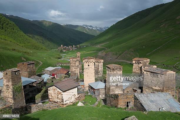 Ushguli village. Svaneti region. Georgia.