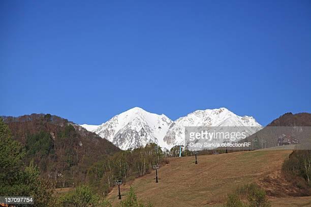 Ushirodate mountain range, Nagano Prefecture, Honshu, Japan