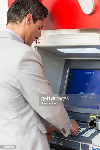 Using a bank ATM