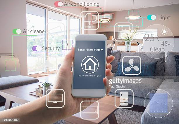 Using a Smart Home Device - Home Control