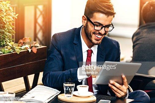Utilizzando un tablet