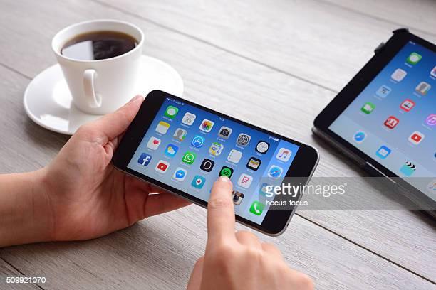Using Apple iPhone 6 Plus