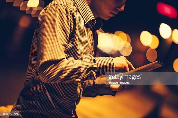 À l'aide de Tablette numérique
