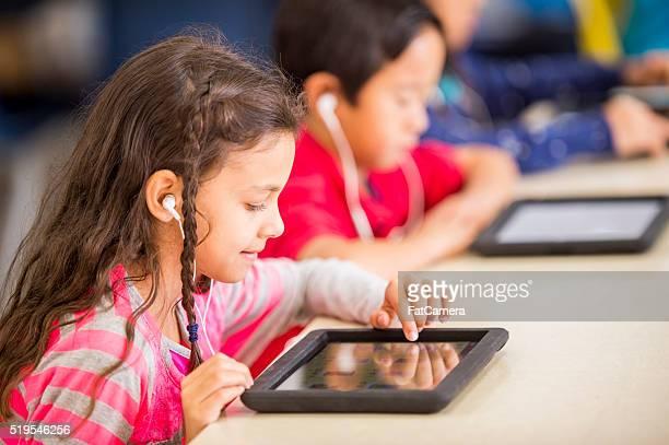 デジタルタブレットを使用してのクラス