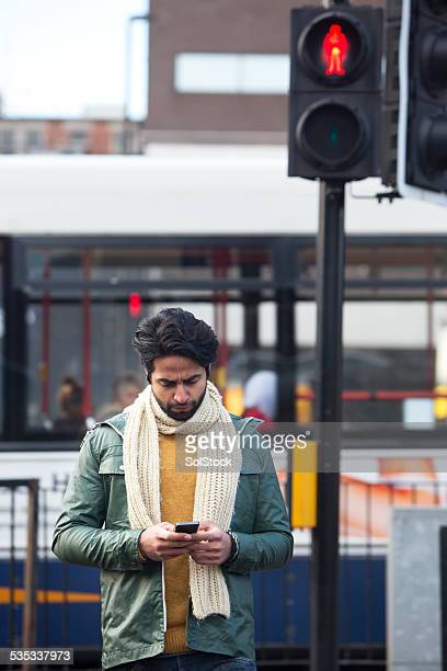 Using Mobile Telephone While Crossing A Road