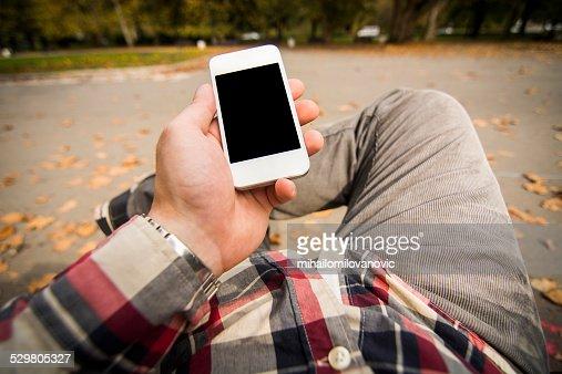 スマートフォンを使用しての POV