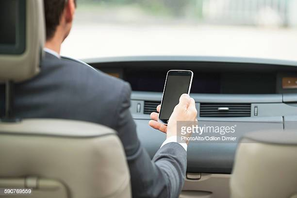 Using smartphone while driving