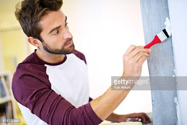 Verwendung der korrekten brush ist der Schlüssel