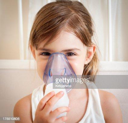 Using the inhalation mask