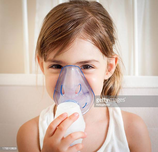 Using the inhalation mask