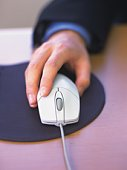 Using the Mouse, High Angle View