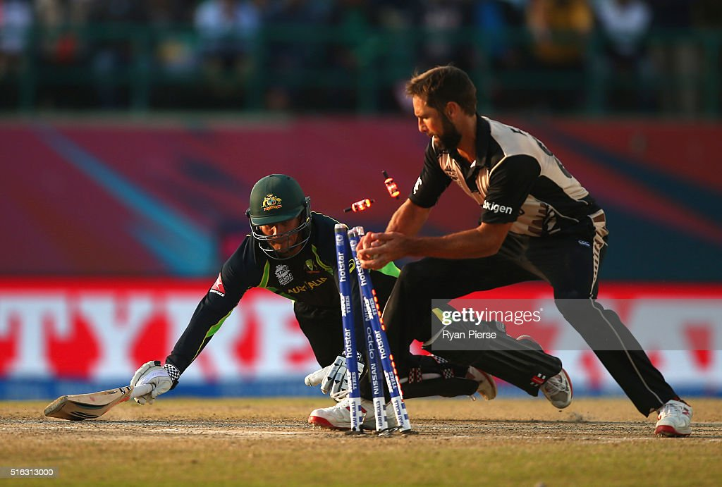 ICC World Twenty20 India 2016:  Australia v New Zealand