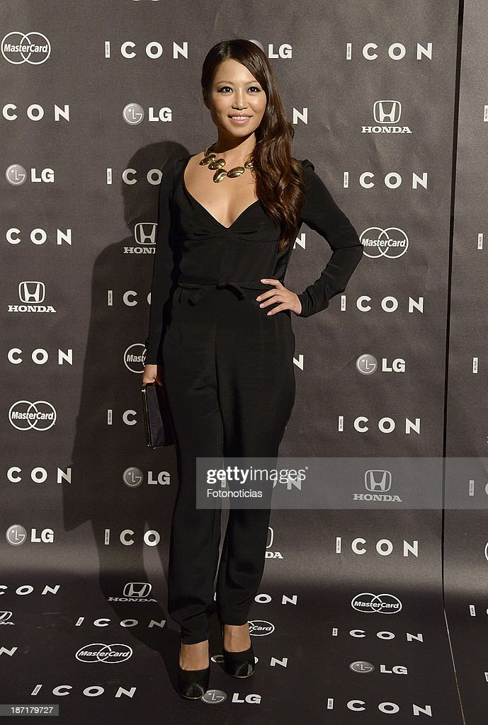 Usun Yun attends 'Icon' magazine launch party at the Circulo de Bellas Artes on November 6, 2013 in Madrid, Spain.