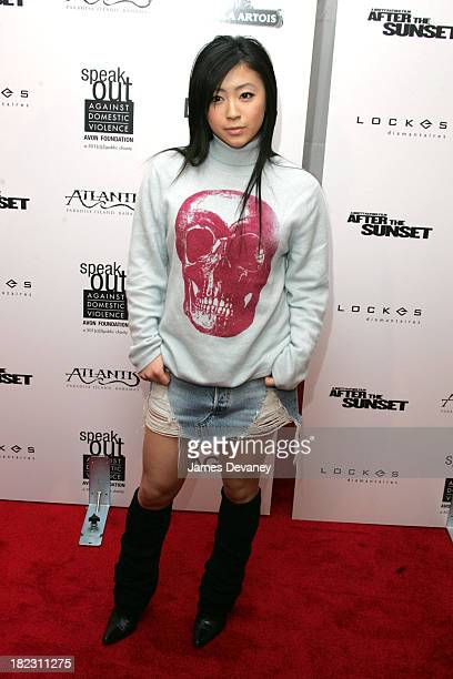 Utada during After The Sunset New York Premiere Outside Arrivals at Ziegfeld Theater in New York City New York United States