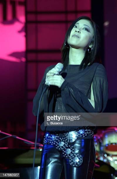 Utada Hikaru during Vivendi Universal Hosts 'Unity in Diversity' Concert On Opening Day of 2002 World Economic Forum at Waldorf Astoria Hotel in New...