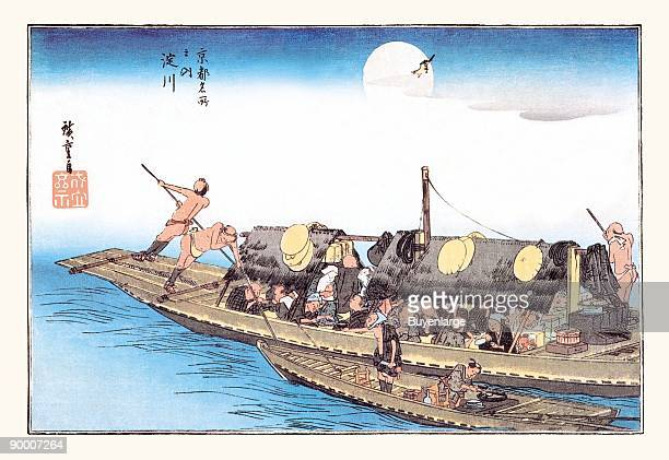 Utagawa Hiroshige was a Japanese ukiyoe artist and one of the last great artists in that tradition