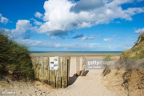 Utah Beach, Normandie, Frankreich