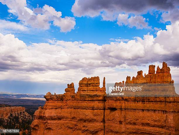 USA, Utah, Bryce Canyon, Landscape with cliffs