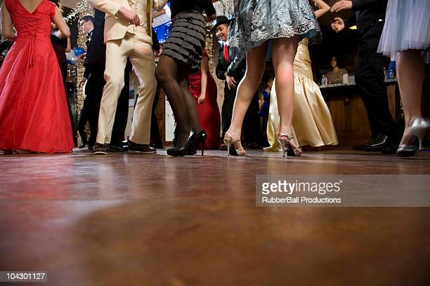 USA, Utah, Cedar Hills, Teenagers (14-17) dancing at high school prom