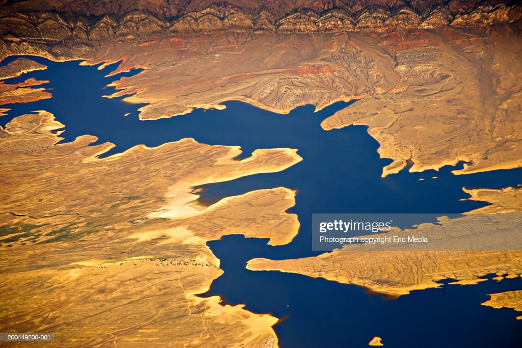 USA, Utah, Colorado River, aerial view