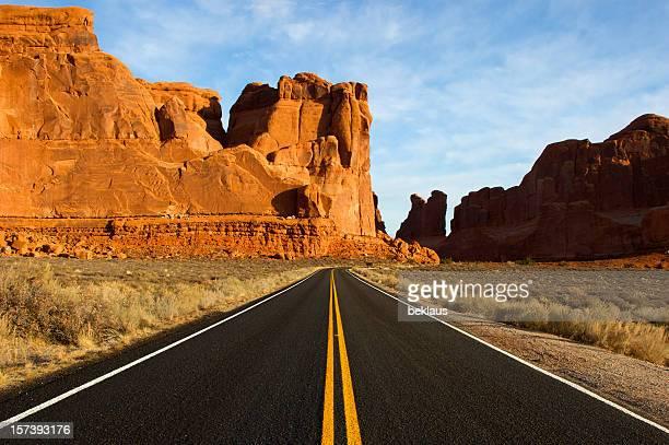 ユタ砂漠道