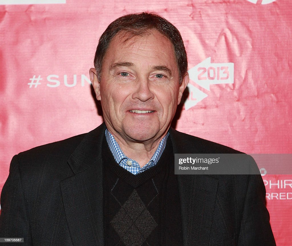 Utah Governor Gary R. Herbert attends 'The Crash Reel' Premiere at Rose Wagner Performing Arts Center on January 18, 2013 in Salt Lake City, Utah.
