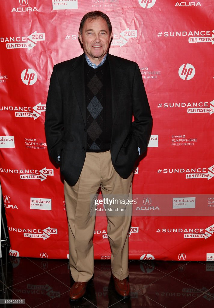 Utah Governor Gary R. Herbert attends 'The Crash Reel' Premiere at Rose Wagner Performing Arts Center on January 18, 2013 in Salt Lake City, Utah.