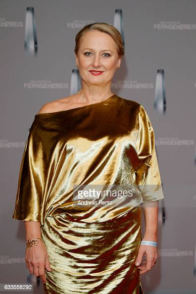 Ute Biernat attends the German Television Award at Rheinterrasse on February 2 2017 in Duesseldorf Germany