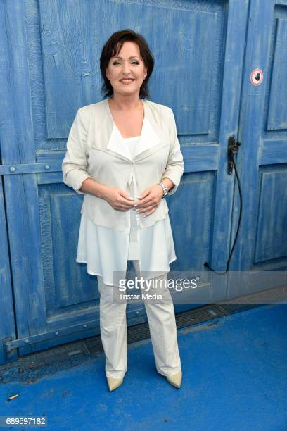 Ute Freudenberg attends the ARD Live TV Show 'Immer wieder Sonntags' in Rust at the EuropaPark on May 28 2017 in Rust Germany