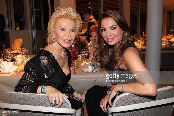 Ute Henriette Ohoven and her daughter Chiara Ohoven attend the 'Gala Abend mit Arthur Cohn' as part of Filmfest Muenchen 2014 at Gasteig and Dinner...