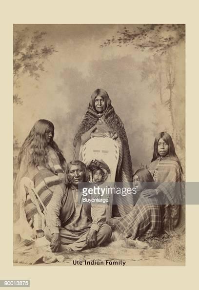 Ute Indian Family
